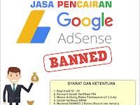 Jasa Pencairan Baned AdSense