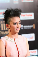 Akshara Haasan in Peachy Crop Top Choli Skirt at IIFA Utsavam Awards 48.JPG
