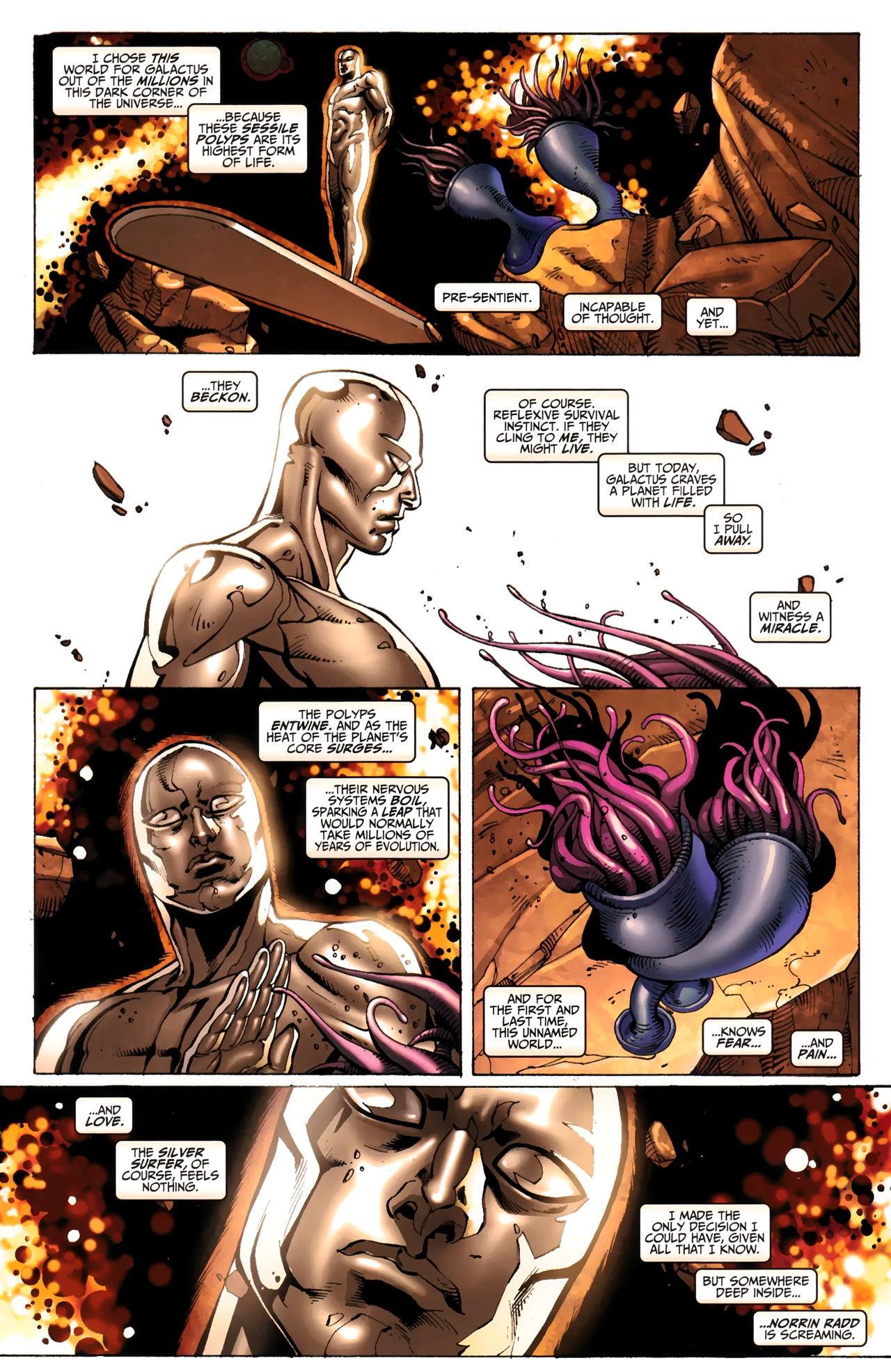 Read online Silver Surfer (2011) comic -  Issue #3 - 10
