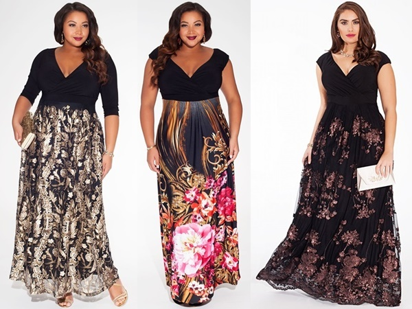 Cocktail plus size wedding guest dress for Plus size dress for wedding guest