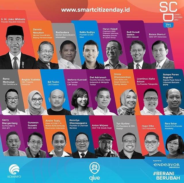 belajar tentang gotong royong dalam teknologi informasi di smart netizen day 2019
