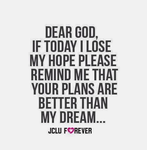 Dear God If Today I Lose My Hope Please Remind Me That