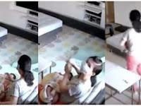 Asisten Rumah Tangga ini Terekam CCTV Sedang Minum ASI Majikannya, Alasannya Bikin Tercengang