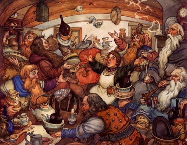 Quadrinhos pdf hobbit o