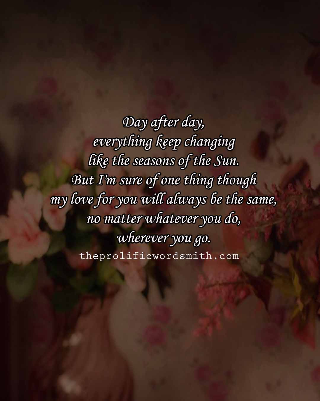 Most Romantic Love Quotes for Her for Facebook and Instagram