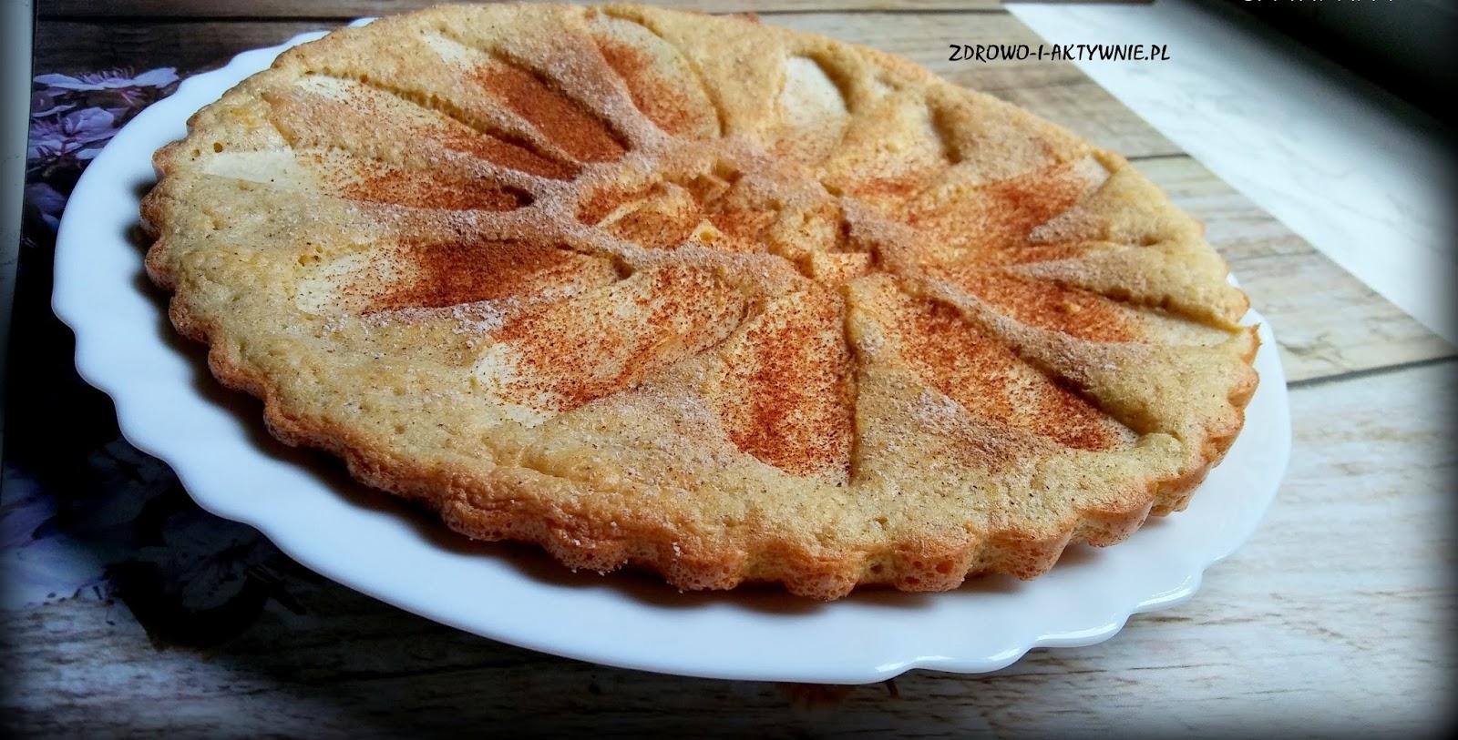 Pieczony omlet szarlotka