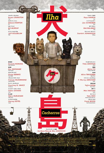 """CINEMA: Fox Film divulga pôster de """"Ilha dos Cachorros"""""""