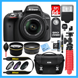 nikon d3300 low price bundles deals and kits