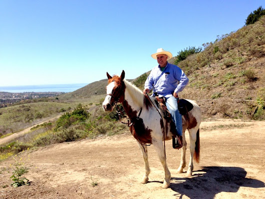 Ferndale Ranch and Thacher School Return with San Juan Capistrano Horseback Rider