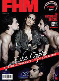 Esha Gupta — FHM, June 2017 (2)