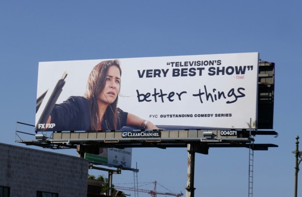 Better Things season 2 Emmy FYC billboard