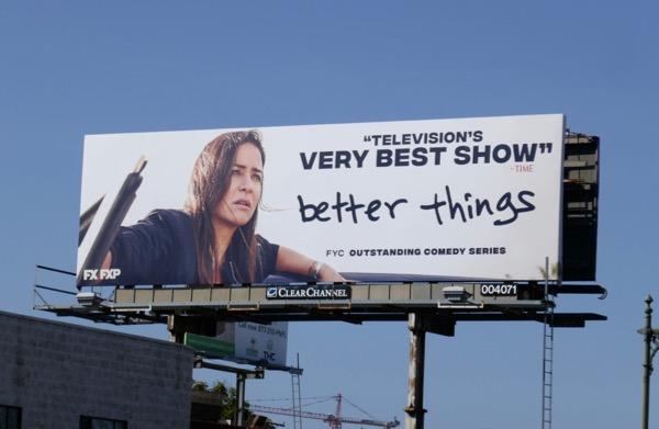 Better Things season 2 Emmy FYC billboard