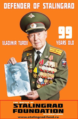 Vladimir Turov turned 99 honorary chairman of Stalingrad Foundation