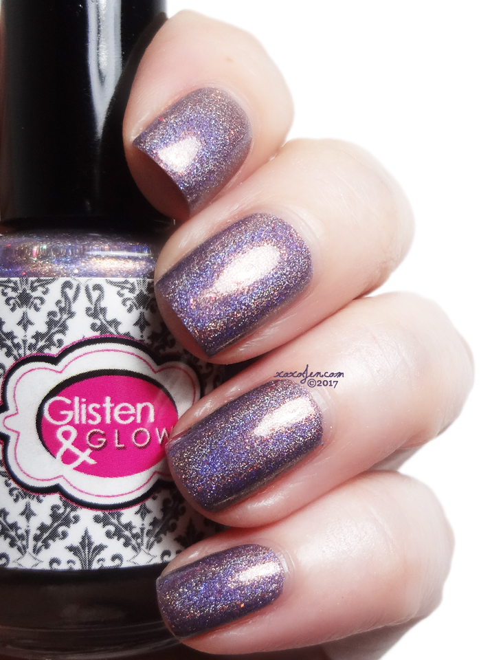 xoxoJen's swatch of Glisten & Glow Manis in Manhattan