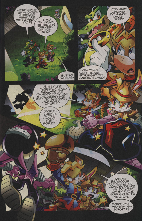 Read online Sonic The Hedgehog comic -  Issue #208 - 15