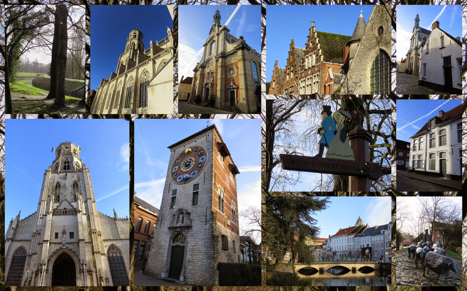 Visiting Lier, Belgium by rail