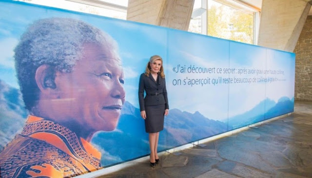 Το βραβείο Νέλσον Μαντέλα στην Μαριάννα Βαρδινογιάννη