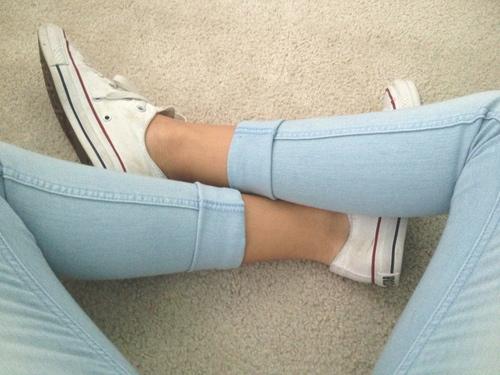 Hi Te Blue Grey Shoes