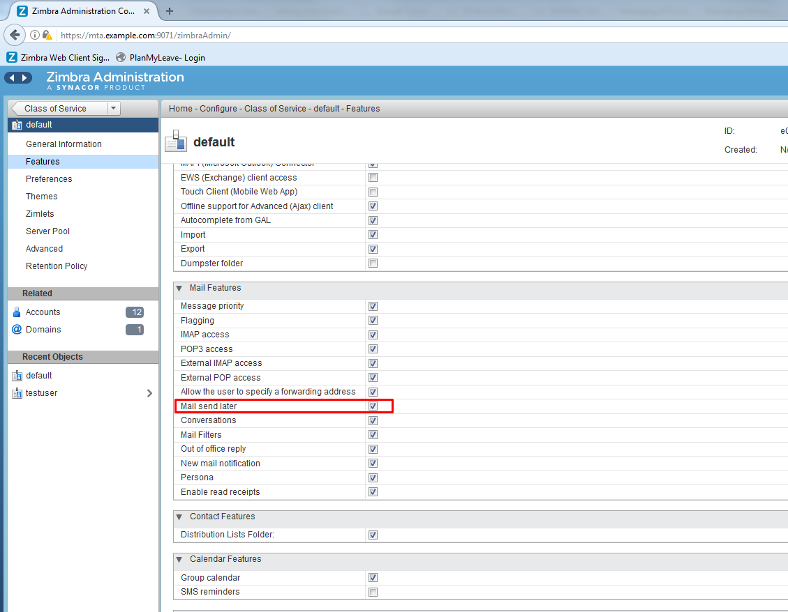 How to Schedule emails for future delivery in Zimbra | Linux