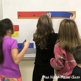 Learn a fun manipulative for teaching rhythm called Note Knacks.  Use them as a whole class visual aid, in small groups or workstations.  So much fun!