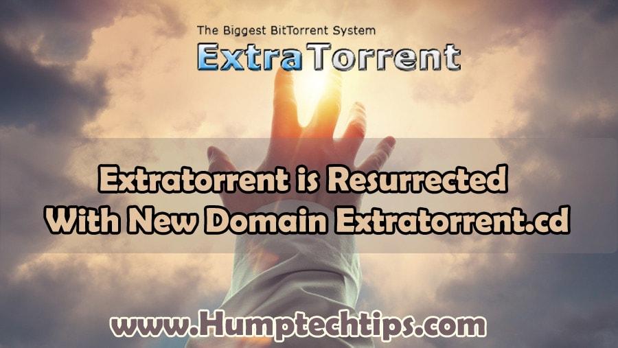 Extratorrent is back: The resurrection of Extratorrent