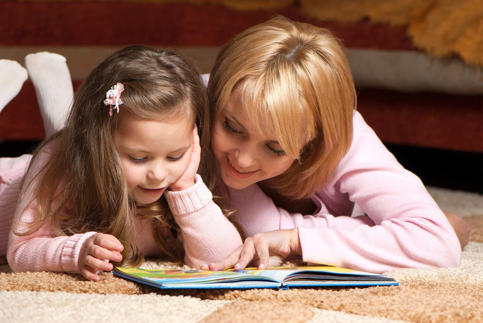 Purposeful Parenting - Mother and Daughter Reading a Book Together