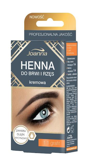 Nowe odcienie kremowej henny do brwi i rzęs od Laboratorium Kosmetycznego Joanna