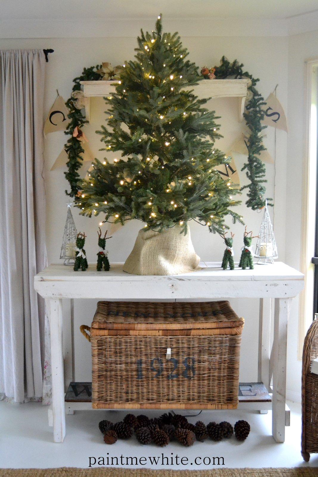 Christmas Tree Love Balsam Hill – Paint Me White