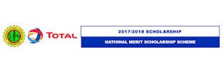 NNPC/TOTAL National Merit Scholarship Scheme 2017/2018 Application Ongoing