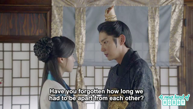 wang so to hae so how long we apart from each other - Moon Lovers Scarlet Heart Ryeo - Episode 19