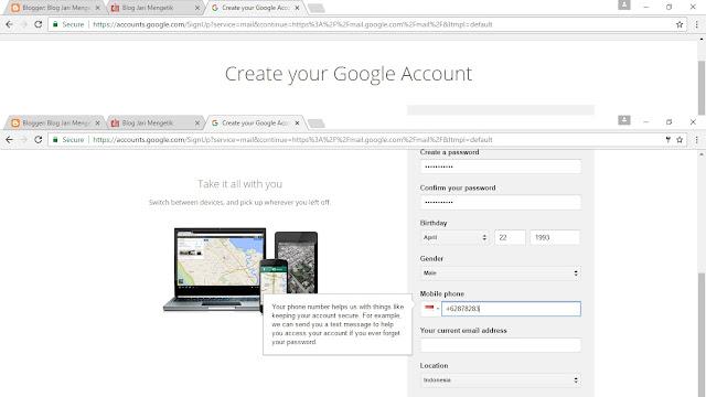 Inilah Cara Membuat Email Di Google Gmail