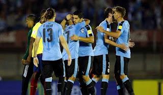 uruguay menang 2-1 atas ekuador