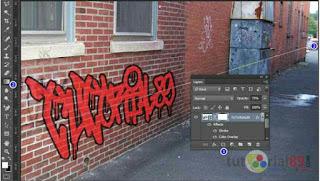 Cara membuat tulisan graffiti dengan photoshop