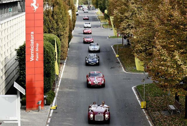 Ferrari 250 GTO birthday rally arrives in Maranello, Ferrari, Luxury, Row, cavalcade