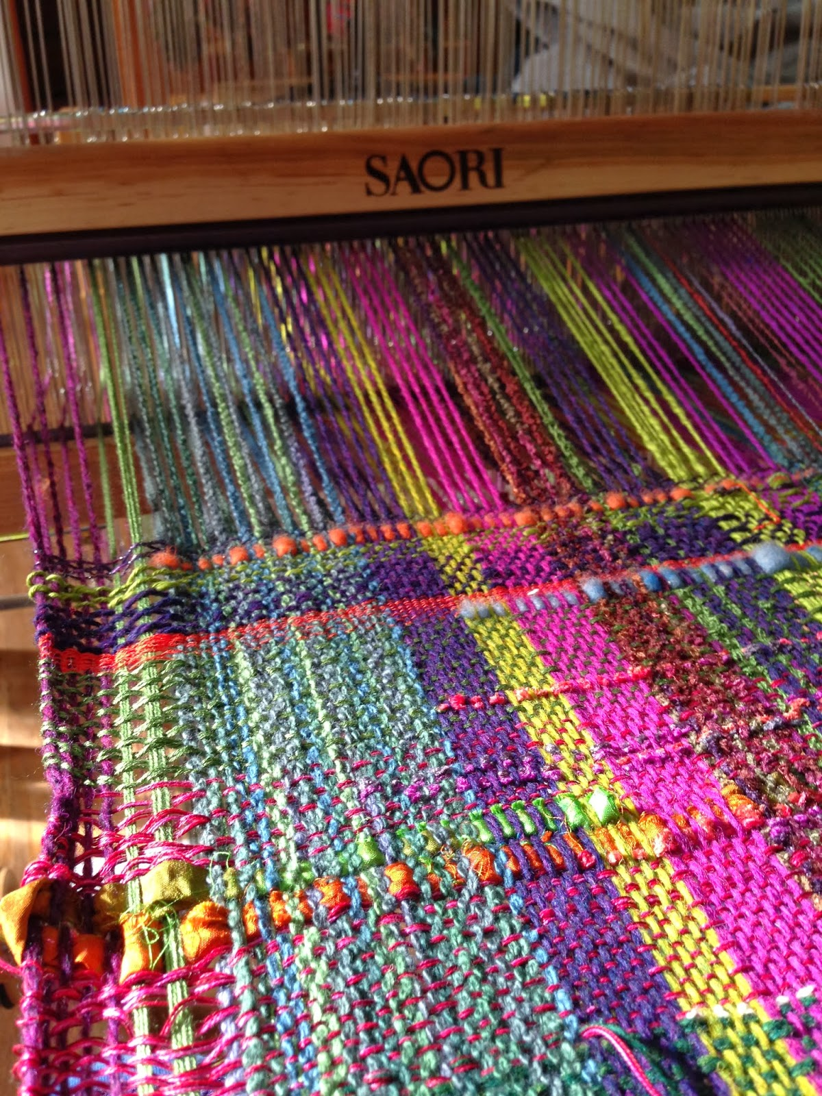 Centering With Fiber Saori Try It Weaving Class More
