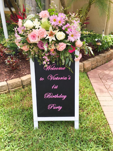 Boho Garden Birthday Party by popular South Florida party blogger Celebration Stylist