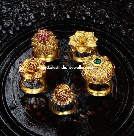 Royal Indian Antique Gold Rings