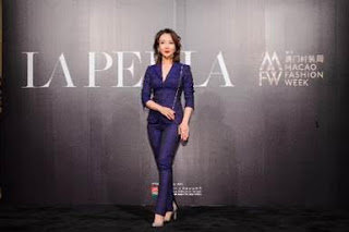 Award-winning actress Chen Shu at the first Sands Macao Fashion Week. The event is showcasing leading luxury and lifestyle fashion brands across Sands Shoppes Cotai Strip Macao, while supporting Macao's cultural and creative industries.