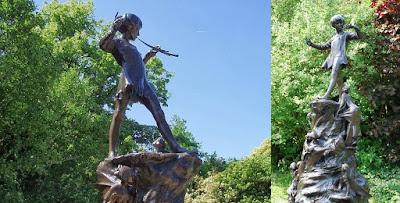 sejarah patung Peter Pan .