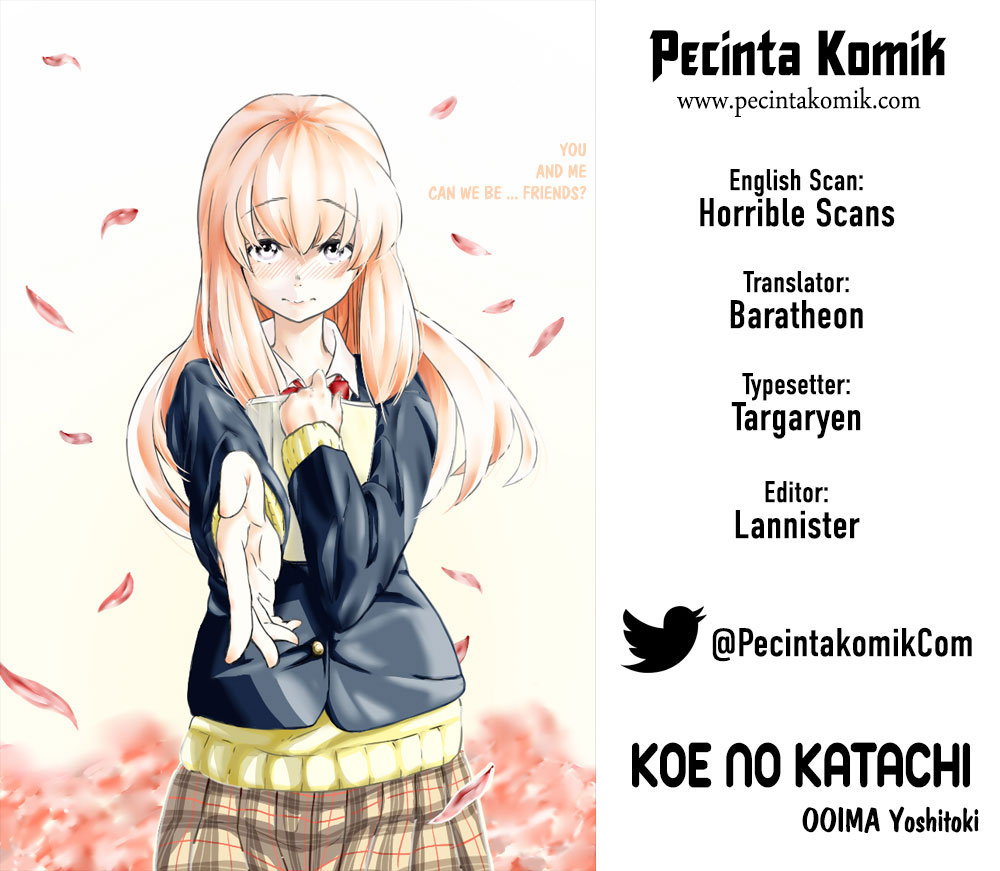 Koe no Katachi Chapter 30-1