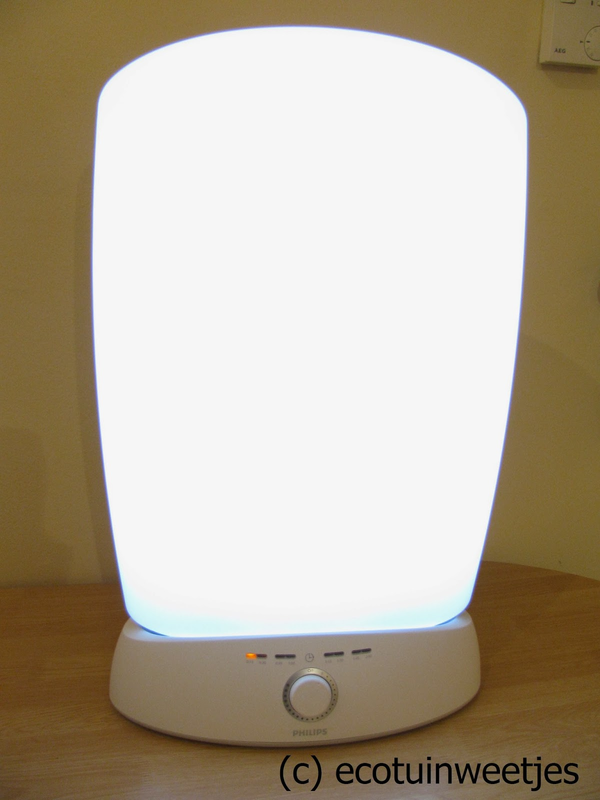Philips EnergyLight EnergyUp lichttherapie Wake-Up light