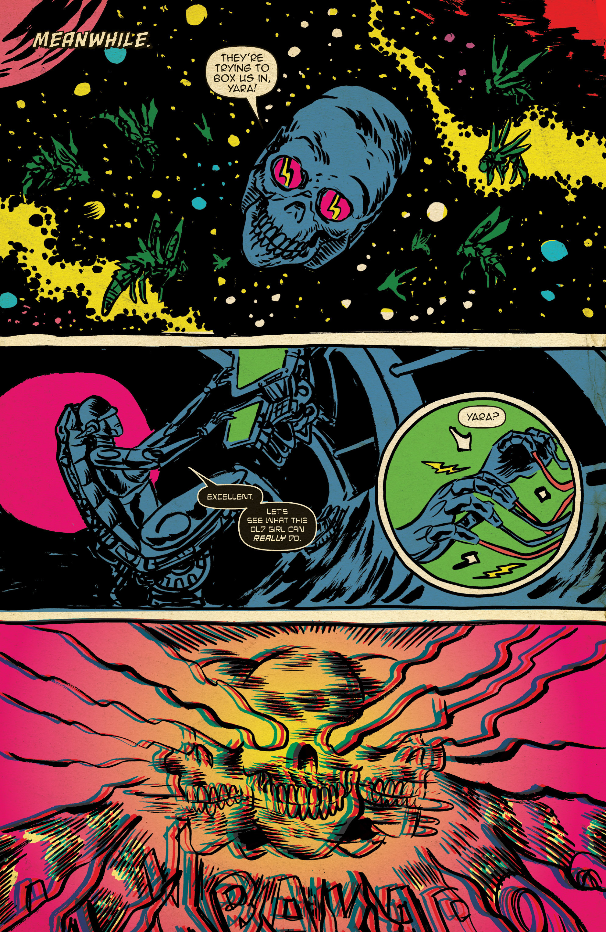 Read online Space Riders comic -  Issue #4 - 16