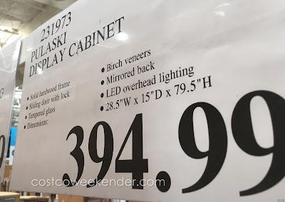 Deal for the Pulaski Display Cabinet at Costco