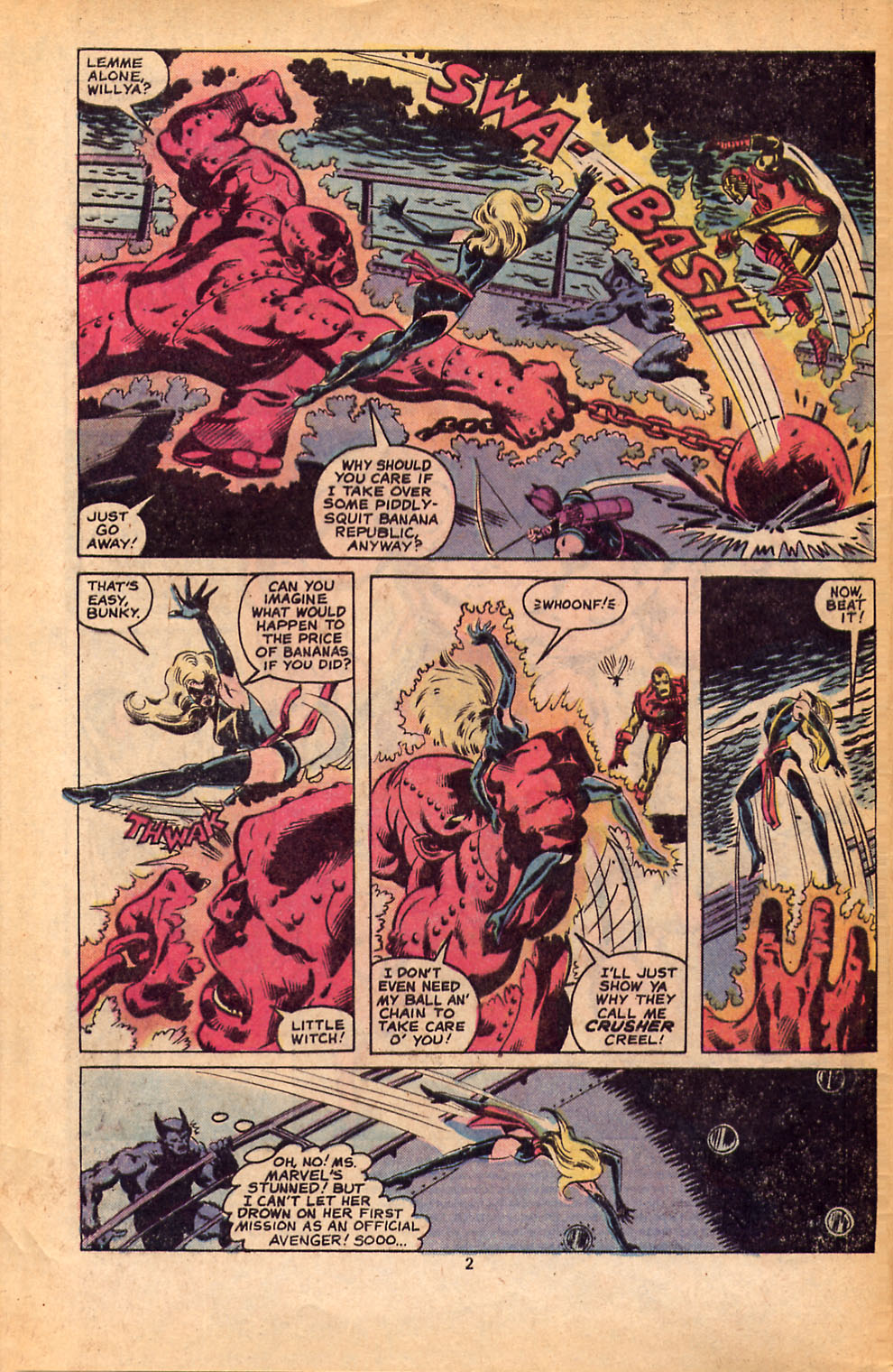 The Avengers (1963) 184 Page 2