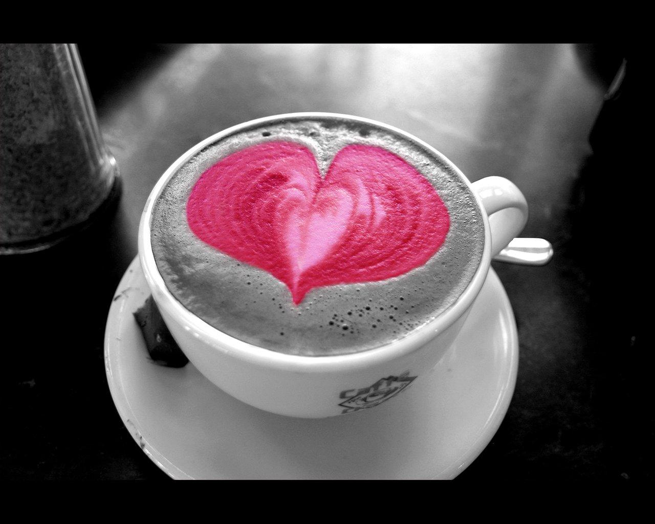 Love Coffee Wallpaper