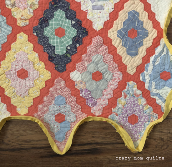 Crazy Mom Quilts A New Binding For The Mark Twain Quilt