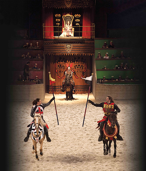 Tournament | Photo courtesy of Medieval Times Atlanta