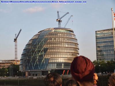 Ayuntamiento de Londres, obra de Norman Foster.