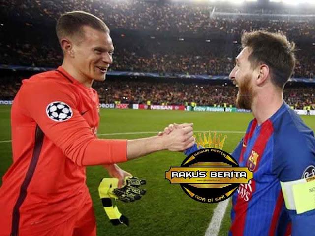 Ter Stegen 'Messi Semakin Terdepan'