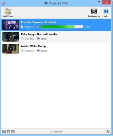 4K Video to MP3 2.3 - Βγάλε τον ήχο από οποιοδήποτε βίντεο και αποθήκευσε το σε MP3